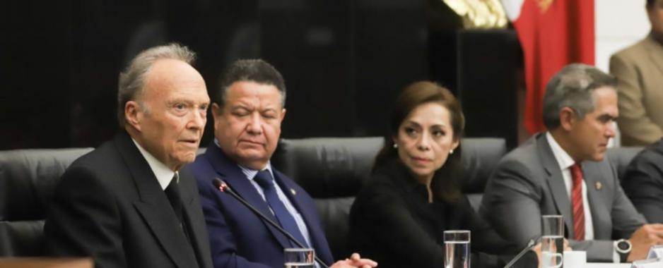 Morena en el Senado acuerda votar a favor de Alejandro Gertz para Fiscal General