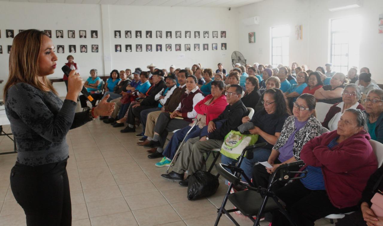Motiva DIF Matamoros a adultos mayores a disfrutar su plenitud