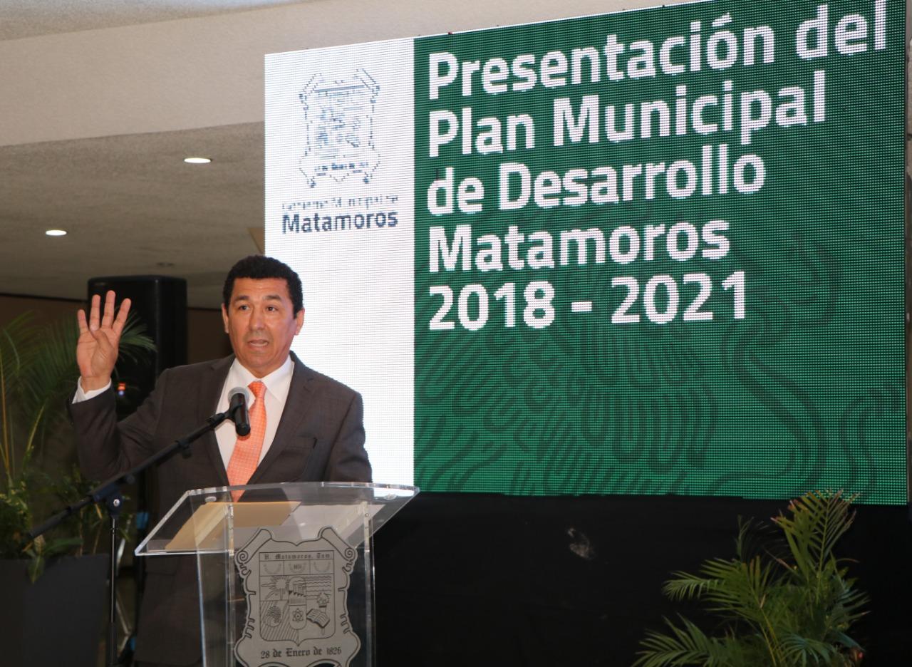 Presenta Alcalde Mario López, Plan Municipal de Desarrollo 2018-2021 y de Infraestructura con inversión de 3,684 MDP