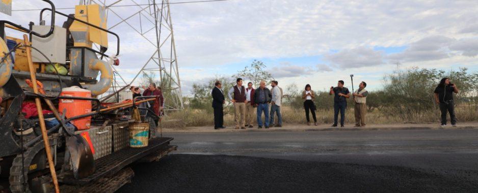 Avance notable registra pavimentación de avenida 12 de Marzo: Alcalde Mario López