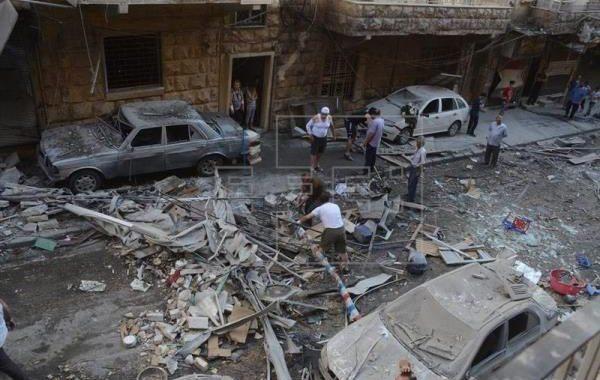 Explotan coches bomba en Siria; hay 13 muertos