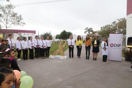 """""""No más cáncer en nuestros niños"""": Marsella Huerta de López"""