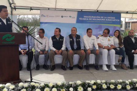 CAST-CONALEP inauguró unidad técnica de soldadura subacuática con inversión de 6 MP