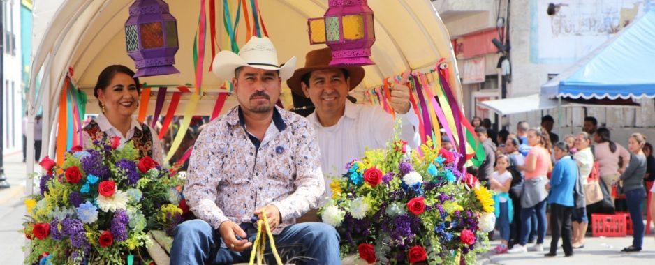 Inician Mario López y Marsella HuertaFiestas Mexicanas Matamoros 2019