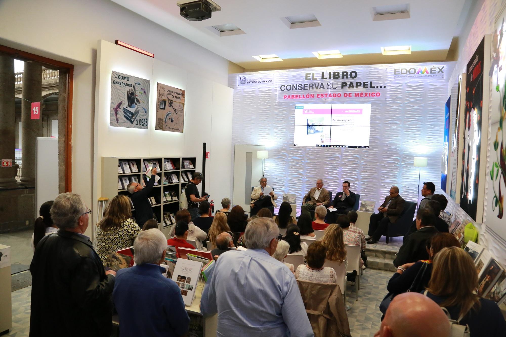 Cuenta Edomex con presencia literaria en la Feria Internacional del Libro del Palacio de Minería