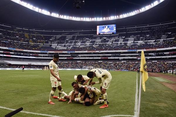 América vence 1-0 ante Puebla en el Estadio Azteca