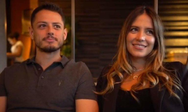 Chicharito confirma que se casó con Sarah Kohan