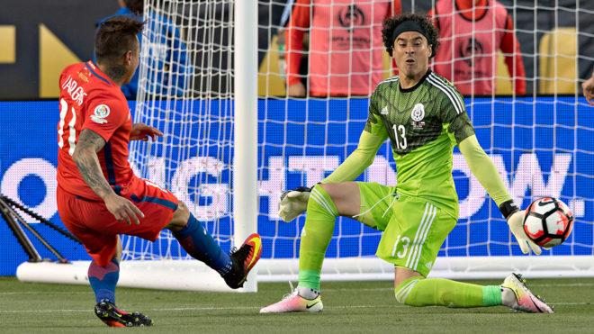 La selección mexicana, con cuentas pendientes ante Chile