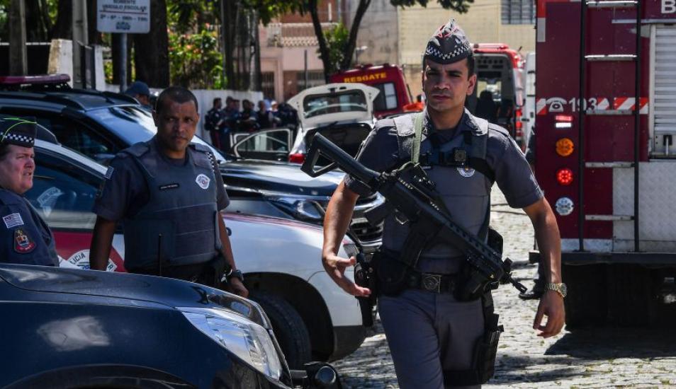 Tiroteo en Sao Paulo deja 10 muertos en una escuela de Brasil