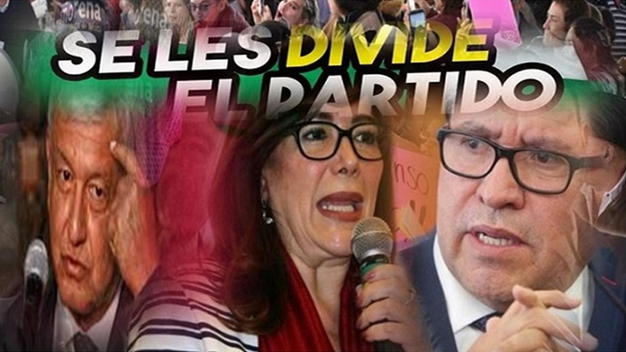 """""""MoReNa, decae, cada vez más dividida""""…!"""