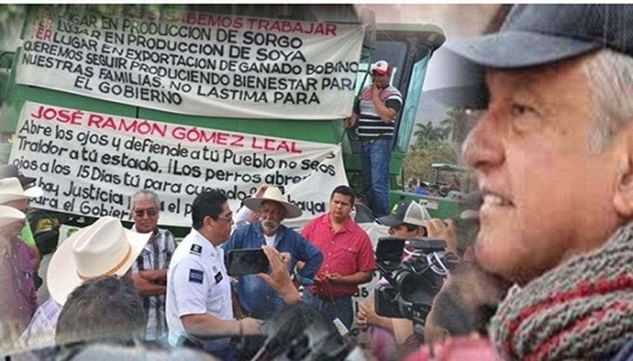 PRI aporreaba a campesinos, ahora los aporrea gobierno de Morena