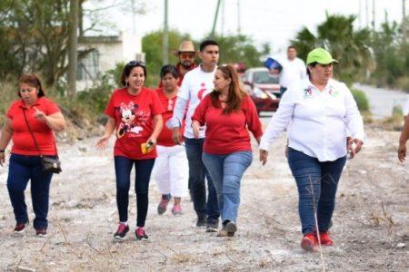 Impulsaré iniciativas que faciliten a la familia la legalización patrimonial: Irma Castillo