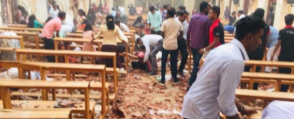 Al menos 40 muertos y más de 200 heridos en trágicas sexplosiones en iglesias y hoteles en SriLanka