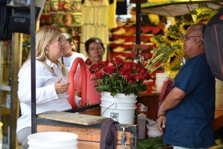 Impulsaré mecanismos para regresar certidumbre a los comerciantes: Irma Castillo, candidata del PRI a diputada local