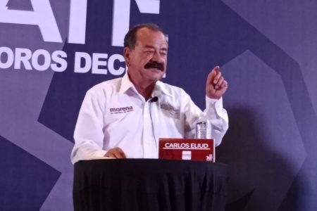 Gana MORENA debate; se impone Carlos Eliud sobre sus adversarios políticos