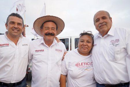 Invitan candidatos de MORENA Matamoros a su gran cierre de campaña