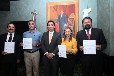 Reemplaza alcalde Mario López a cuatro funcionarios de su gobierno