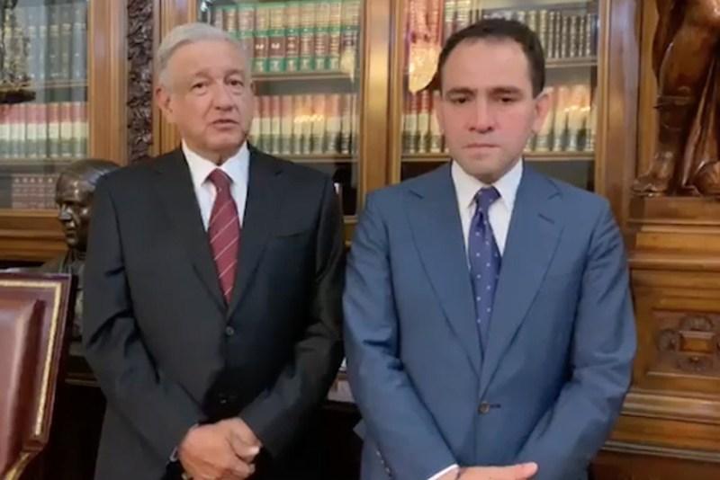Renuncia Carlos Urzua a SHCP; lo sustituye Arturo Herrera
