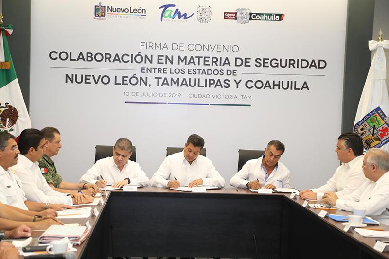 Se acuerda inédito programa de seguridad para el noreste de México