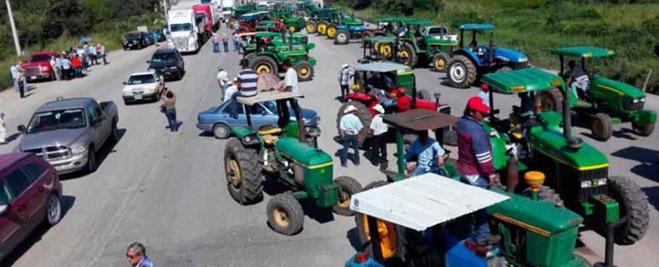 A partir del miércoles: Agricultores frenarán importación de granos por Nuevo Progreso