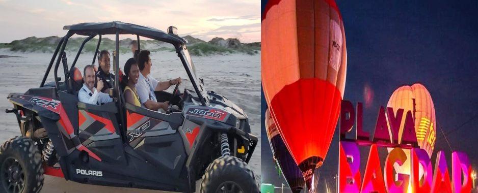 """""""En tres años de gobierno, Matamoros y su Playa Bagdad van a cambiar"""": Alcalde Mario López"""
