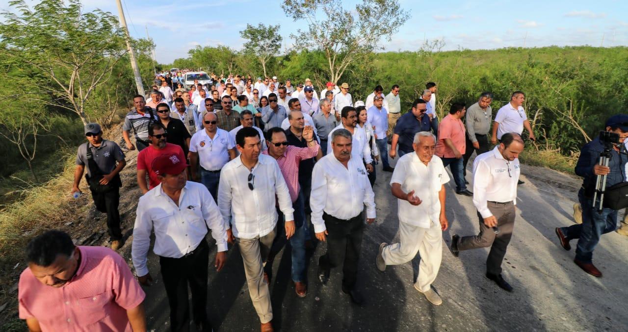 Constatan fuerzas vivas de Matamoros rescate del relleno sanitario; reconocen trabajo de alcalde Mario López
