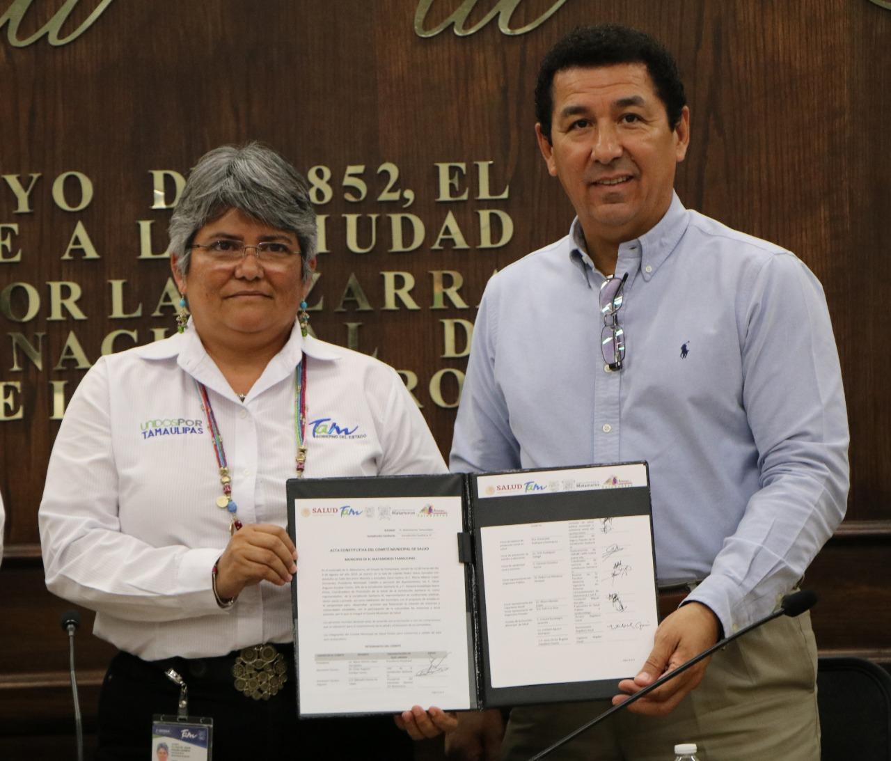 Se suma alcalde Mario López a política del Gobernador Cabeza de Vaca, para consolidar salud de la población