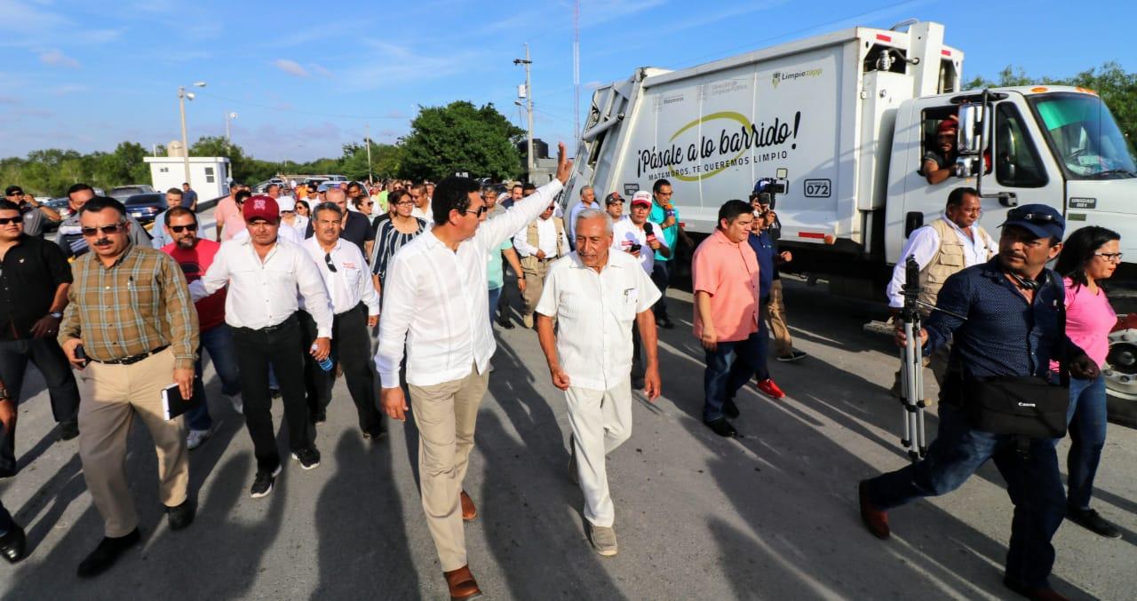Garantiza alcalde Mario López disposición final de residuos, cumpliendo la normatividad