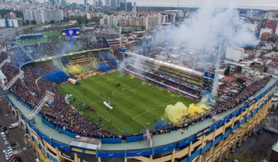 Amenaza de bomba en el estadio de BocaJuniors