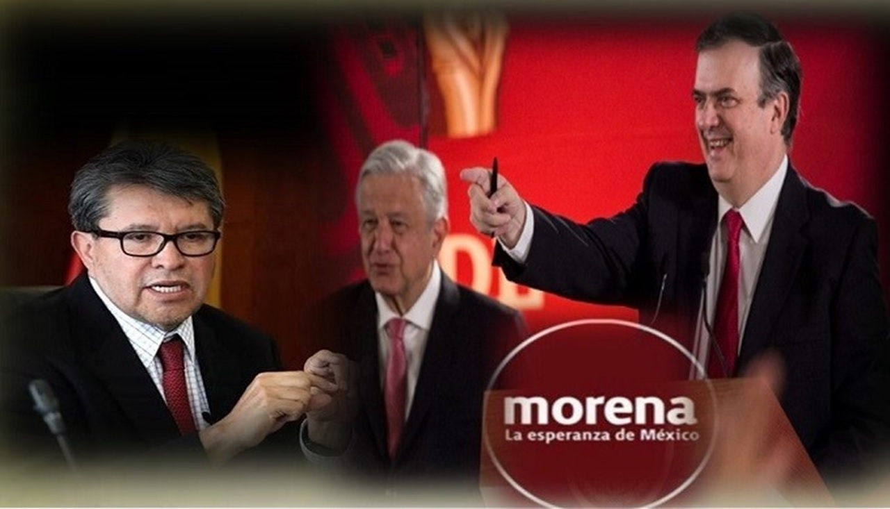 Sigue la guerra morenista, Marcelo contra Monreal