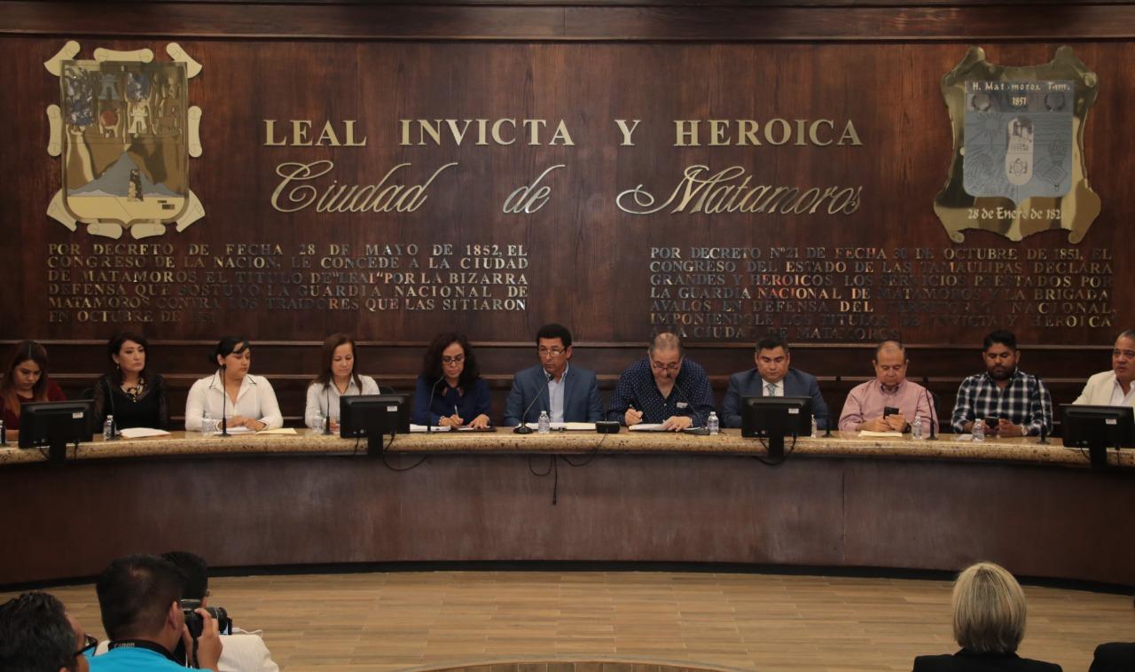 Aprueba Cabildo ajuste a tabla catastral y propuesta de Miroslava de la Garza, como directora del DIF