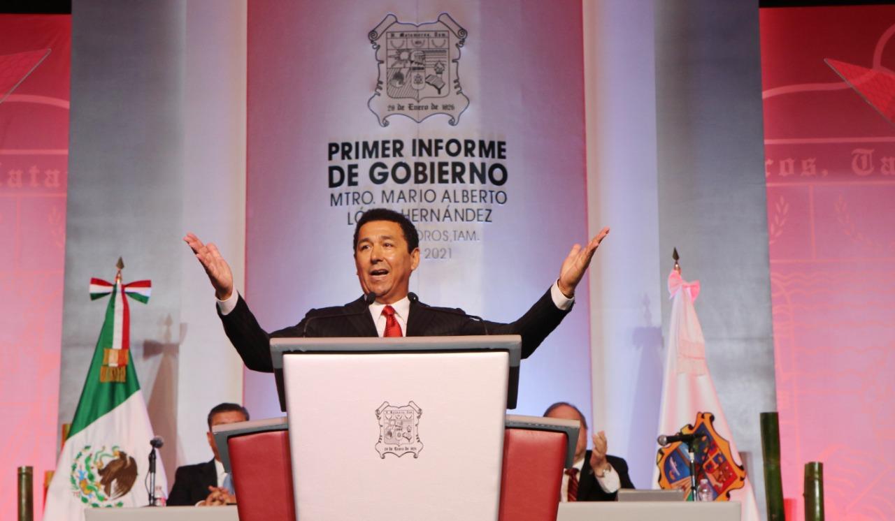 Histórica inversión pública en Matamoros: 1,226 MDP  destaca Mario López en Primer Informe de Gobierno
