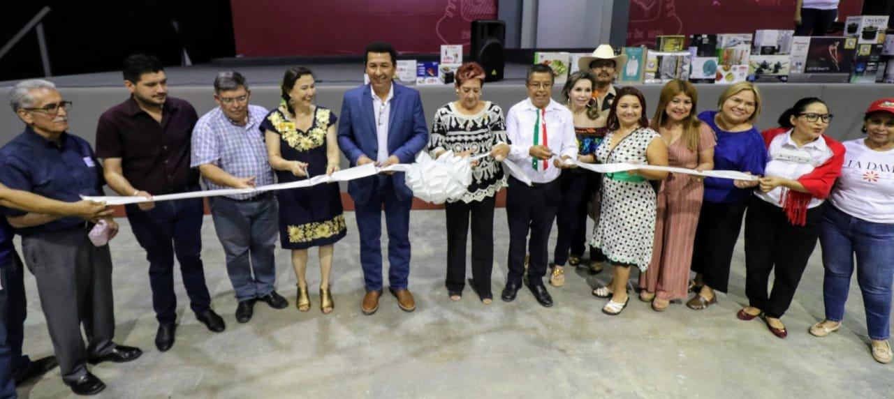 """Inaugura alcalde Mario López, lotería gastronómica """"Matamoros Sabroso"""""""
