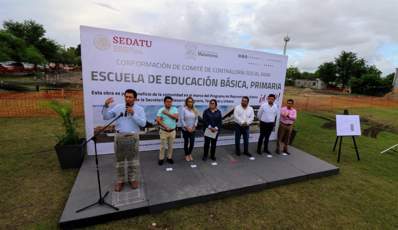 AMLO demuestra lo mucho que quiere a Matamoros; inician obras por más de 60 MDP: Alcalde Mario López