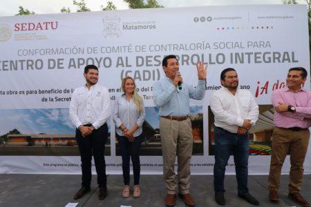 Con recursos de SEDATU inicia construcción de un  CADI en la colonia El Porvenir: Alcalde Mario López