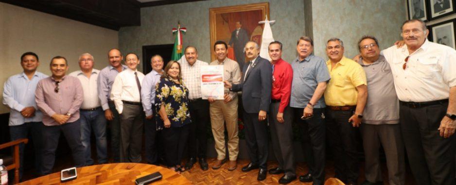 Manifiestan Clubes Rotarios de Matamoros, interés de trabajar en equipo con alcalde Mario López