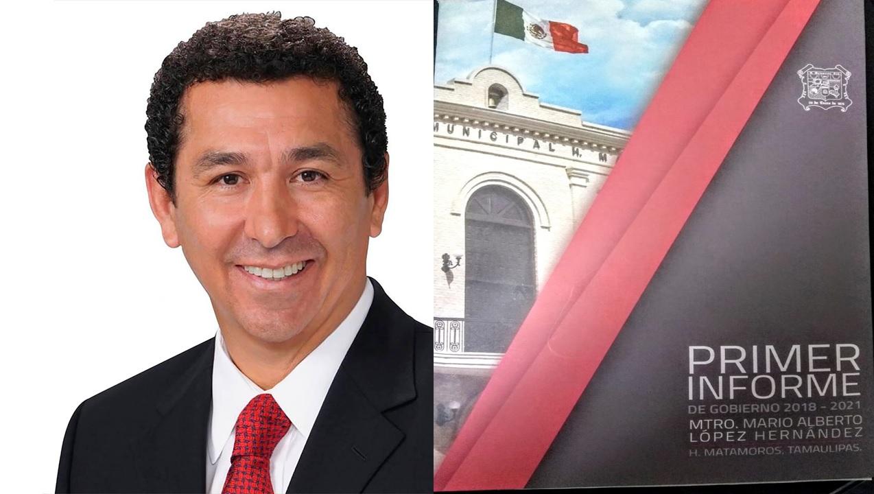 Alcalde de Matamoros Mario López, rendirá este viernes su Primer Informe de Gobierno