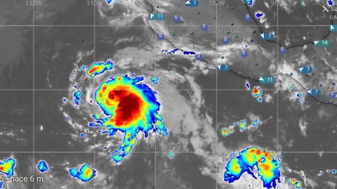 """Se forma tormenta tropical """"Juliette"""" en el Pacífico mexicano"""