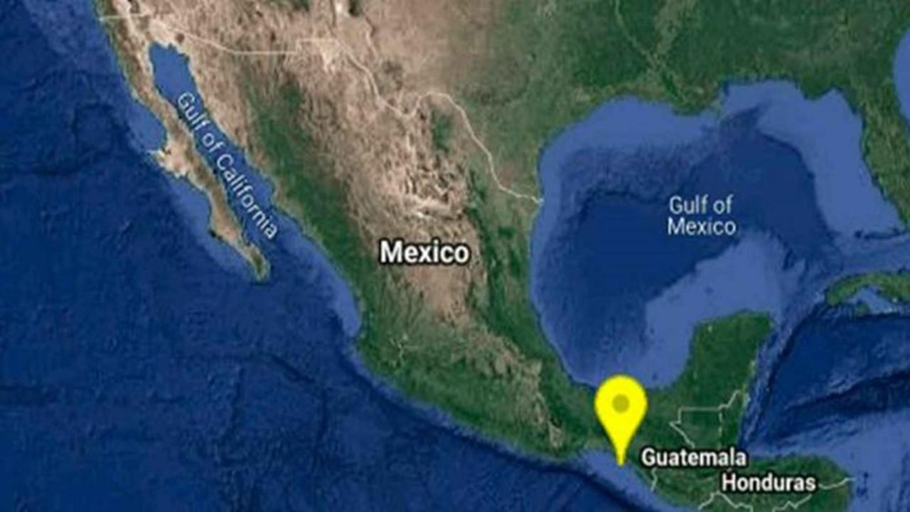 Se registra sismo de magnitud 4.2 en Chiapas