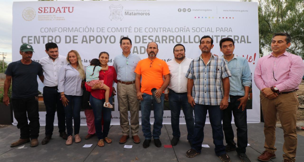 Empodera federación a ciudadanos; vigilarán construcción de obras: alcalde Mario López