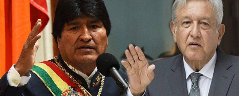 López Obrador, se preocupa más por Evo Morales y no por su pueblo…..!