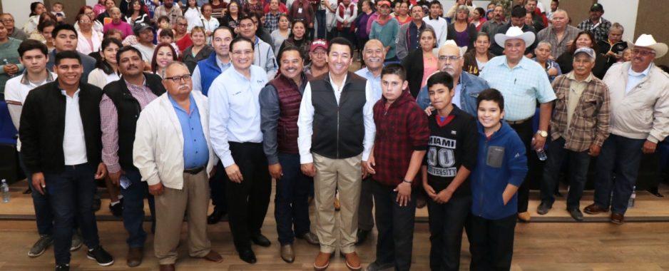 Seguiremos trabajando con pasión para fortalecer al campo: Alcalde Mario López