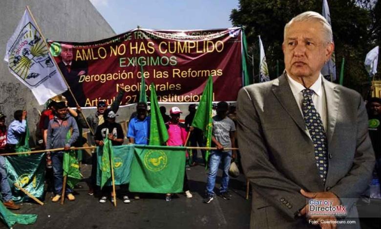 """Gobierno federal, """"da la espalda a campesinos de Tamaulipas"""""""