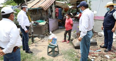 Entrega de apoyos alimentarios extraordinarios continúa en Altamira.