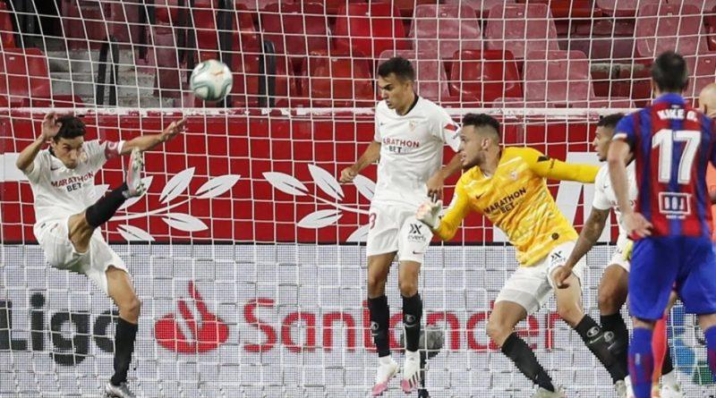 La Liga Española: El Sevilla se encamina a la Champions League tras victoria ante Eibar
