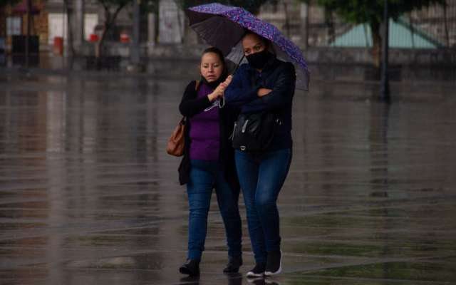 Prevén lluvia con granizo en 12 alcaldías de CDMX y 11 municipios de Edomex