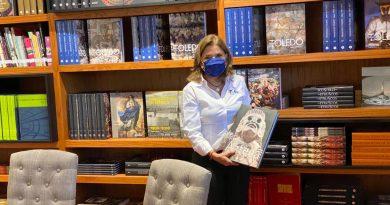 Cultura Tamaulipas recibe donación de acervo literario por parte de fomento cultural Banamex