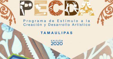 El Fonca y Cultura Tamaulipas abren la Convocatoria PECDA 2020