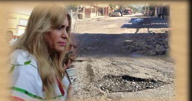 Alcaldesa presumie 5 mil millones en obras que no se reflejan en las colonias…!