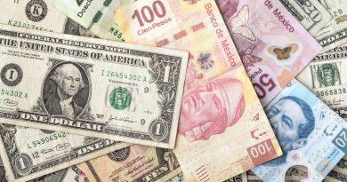 Mejora la cotización de la moneda mexicana
